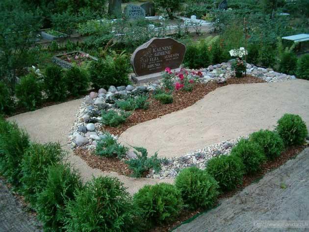 Обустройство могилы на кладбище своими руками фото
